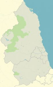 Map of the North East
